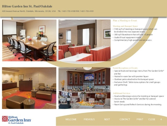 Hilton Garden Inn St Paul Oakdale Mn Hotel Ebrochure Video