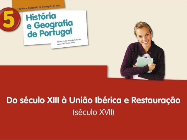 B História e Geografia de Portugal · 5º ano