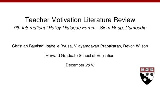 motivation and teaching essay