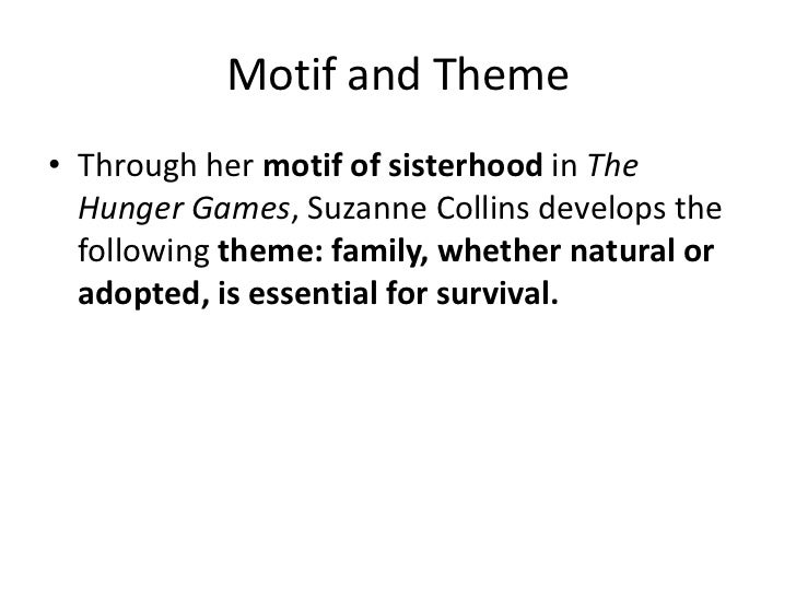 hunger games survival theme