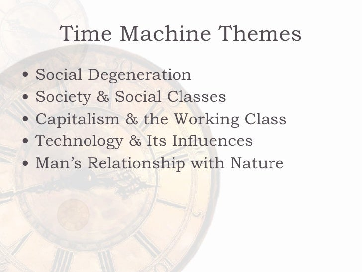 an analysis of capitalist society in time machine by hg wells The time machine has 331094 ratings and 8257 reviews  if you go by h g  wells novella, society (at least in merry future england circa 802,000 ad) will  have.