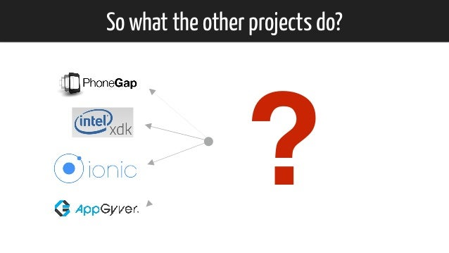 So what the other projects do? ?
