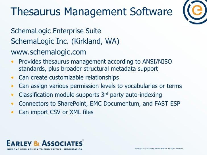Thesaurus Management Software<br />STAR/Thesaurus<br />Cuadra Associates, Inc. (Los Angeles)<br />www.cuadra.com <br />Sta...
