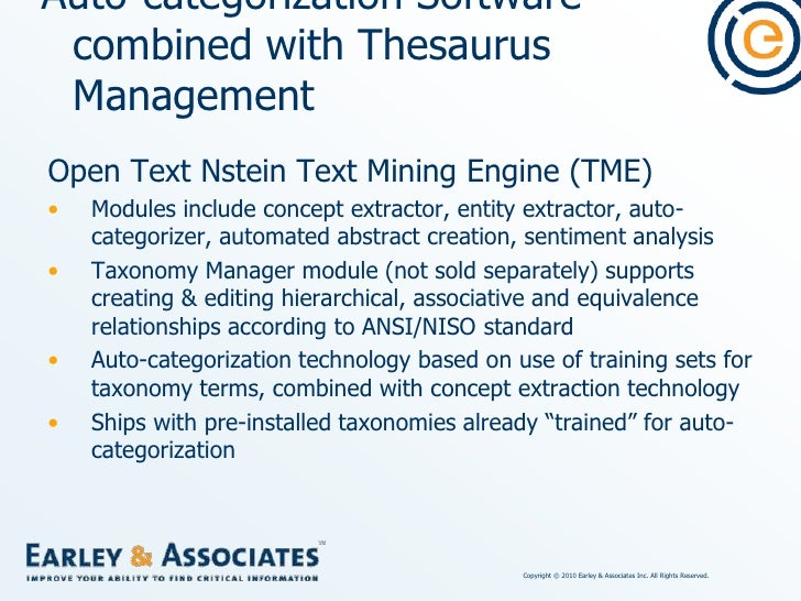 """Concluding Remarks<br />Some """"taxonomy tools"""" are stronger in taxonomy/thesaurus/ontology management.<br />Some """"taxonomy ..."""
