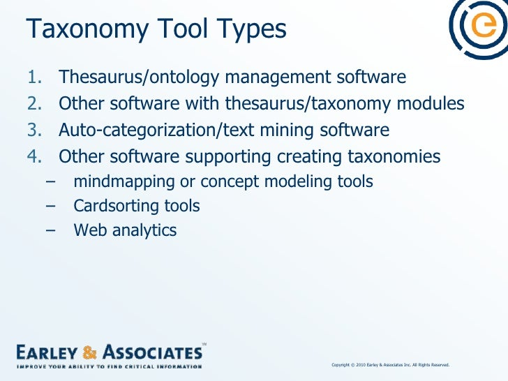 """Tools Used by """"Taxonomists""""<br />"""