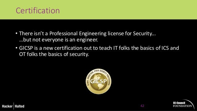 How to Get into ICS Security byChris Sistrunk