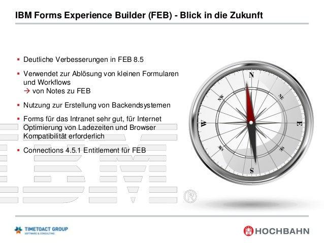 IBM Forms Experience Builder für Rapid Application Development Im Intranet eignet sich IBM Forms insbesondere für Rapid Ap...
