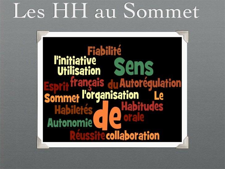 Les HH au Sommet