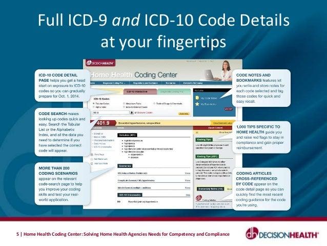 Home Health Coding Center by DecisionHealth