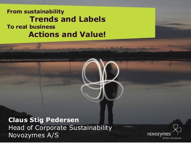 EB DIRECTORS 090124 MEETING, BÅSTAD, SWEDEN  From sustainability  Trends and Labels  To real business  Actions and Value! ...