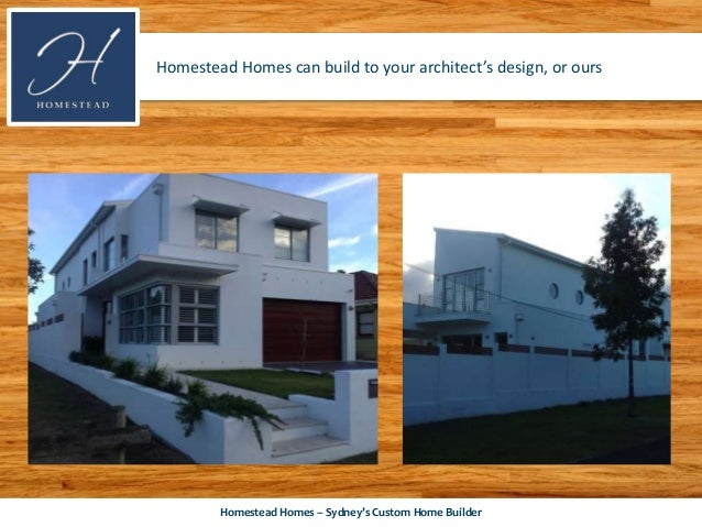 Custom Home Builder Homestead Homes Shows How Custom Design Can Bring
