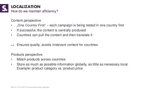 4144e7a0879f One Product - Many Countries. How we scaled STYLIGHT to 10 countries