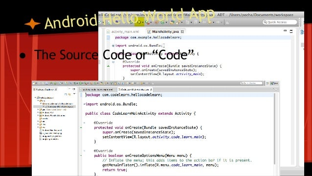 Android source code examples pdf