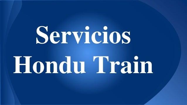 Servicios Hondu Train