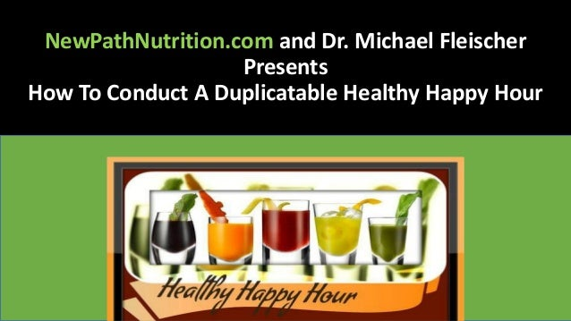 Purium Healthy Happy Hour Training