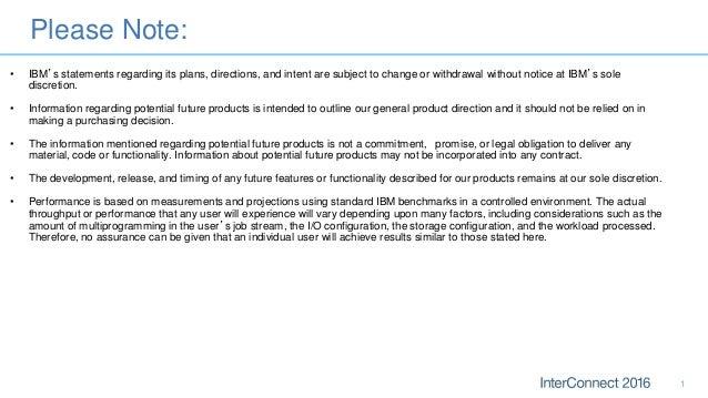 IBM MQ Advanced - IBM InterConnect 2016 Slide 2
