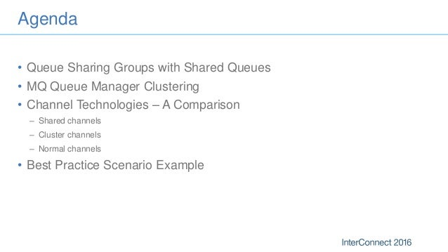 Hhm 3479 mq clustering and shared queues for high availability Slide 2