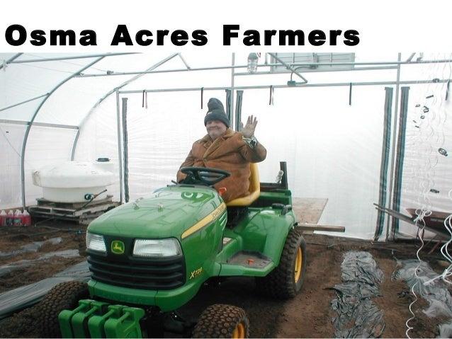 Osma Acres Farmers Market