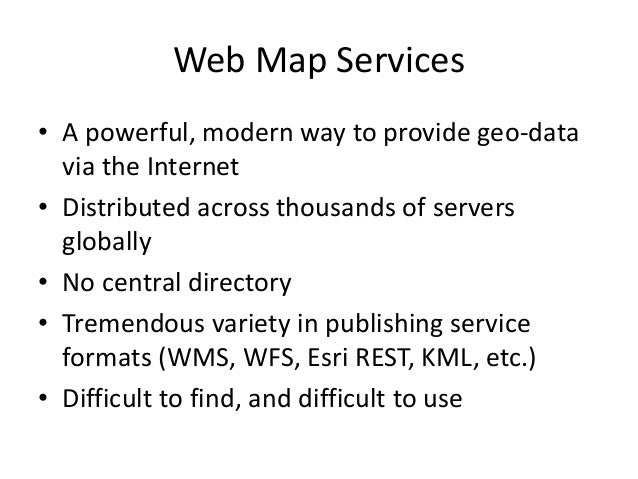 Harvard Hypermap: An Open Source Framework for Making the World's Geospatial Information more Accessible Slide 3