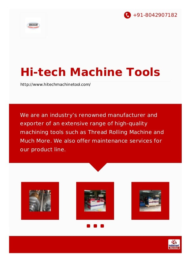 hitech machine