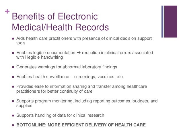 Electronic Health Records Issues And Challenges