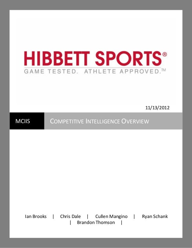 77442f470511 Hibbett Sporting Goods Competitive Overview