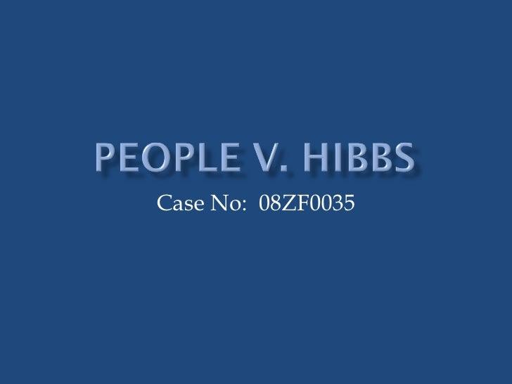 Case No: 08ZF0035