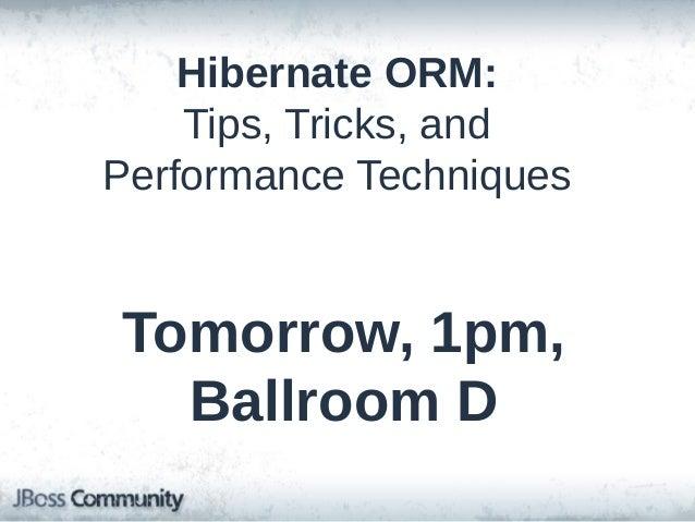 QUESTIONS? • • • •  Q&A #hibernate or #hibernate-dev (brmeyer) @brettemeyer +brettmeyer