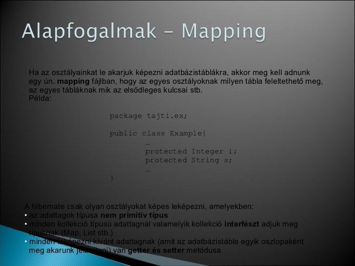 Hibernate tutorial Slide 3