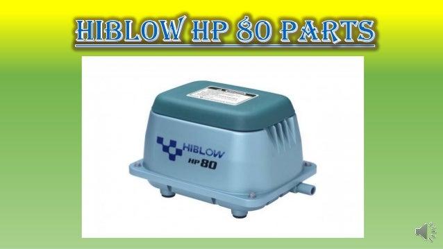 Hiblow hp 80 parts Slide 2