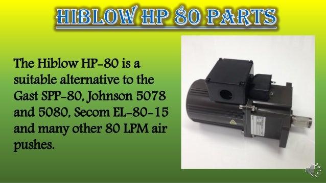 Hiblow hp 80 parts Slide 3