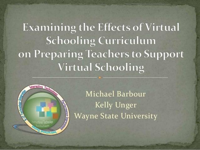 Michael Barbour    Kelly UngerWayne State University