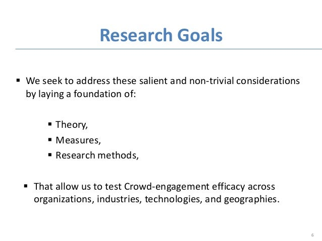  We seek to address these salient and non-trivial considerations by laying a foundation of:  Theory,  Measures,  Resea...