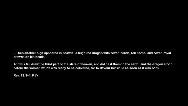 Da Varagine provides two versions ... the dragon was attacking the saint, and was about to devour her, when she made the s...
