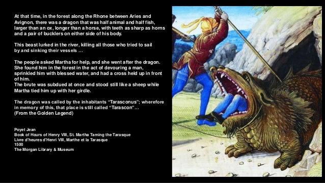 (Hic sunt dracones) Dragons in paintings