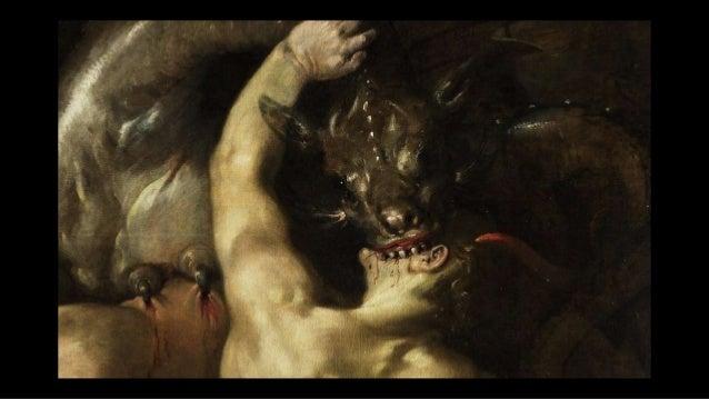 ... Alors un autre signe apparut dans le ciel: c'était un grand dragon rouge-feu. Il avait sept têtes et dix cornes et, su...