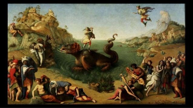 le bien doit vaincre le mal, l'épouvantable dragon doit se soumettre au preux chevalier et à la douce princesse ... Paolo ...