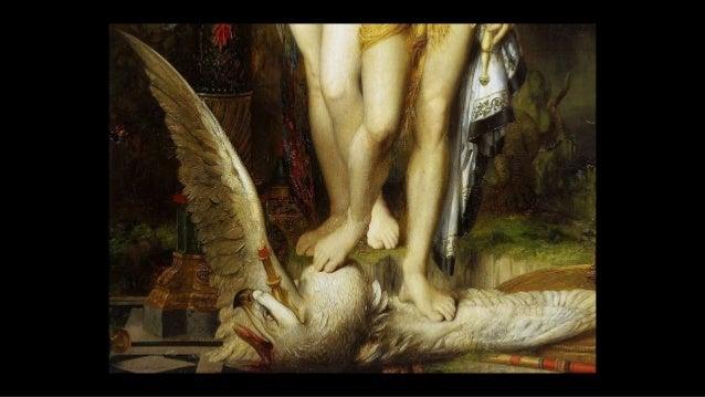 un dragon s'élève de la terre et la foudre de Zeus tombe sur Phaéton pour le tuer ... Gustave Moreau The Fall of Phaeton C...