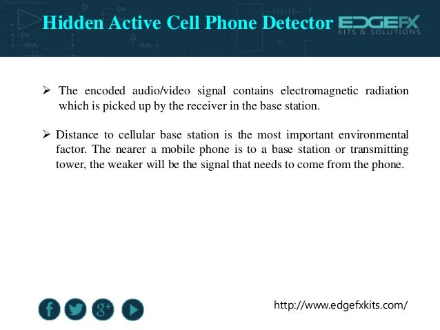 Block Diagram Of Hidden Active Cell Phone Detector