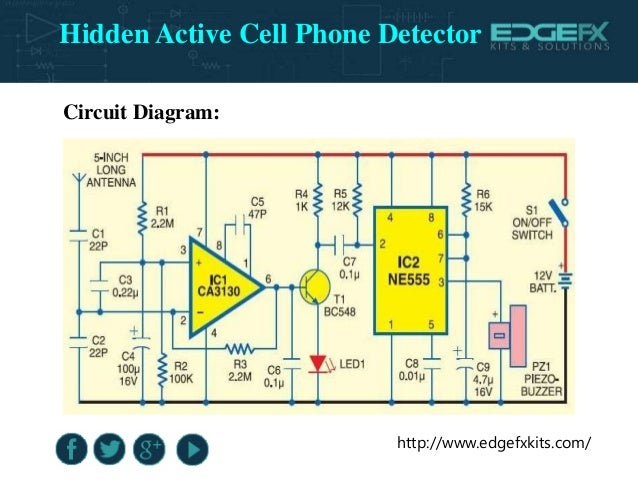 Portable Wireless Cellphone Detector