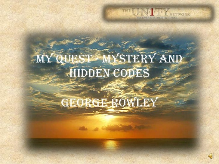 My Quest - Mystery and Hidden CodesGeorge Rowley<br />