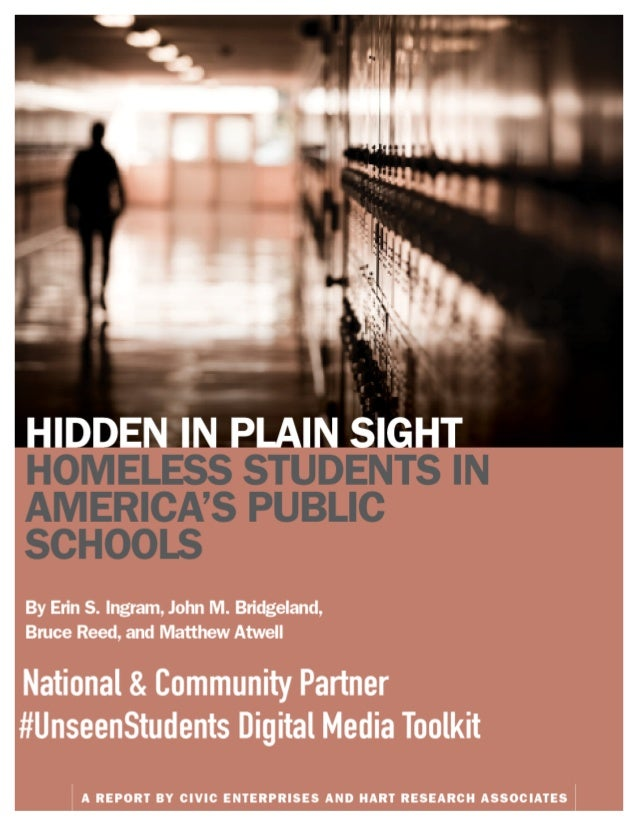 Hidden In Plain Sight Homeless Students >> Hidden In Plain Sight Partner And Community Digital Toolkit
