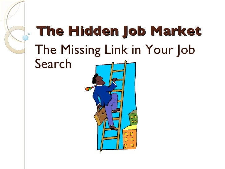 The Hidden Job Market  The Missing Link in Your Job Search