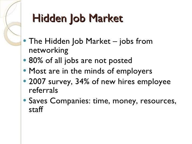 Discovering the Hidden Job Market