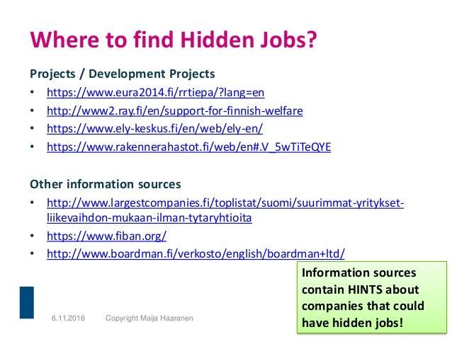 Projects / Development Projects • https://www.eura2014.fi/rrtiepa/?lang=en • http://www2.ray.fi/en/support-for-finnish-wel...