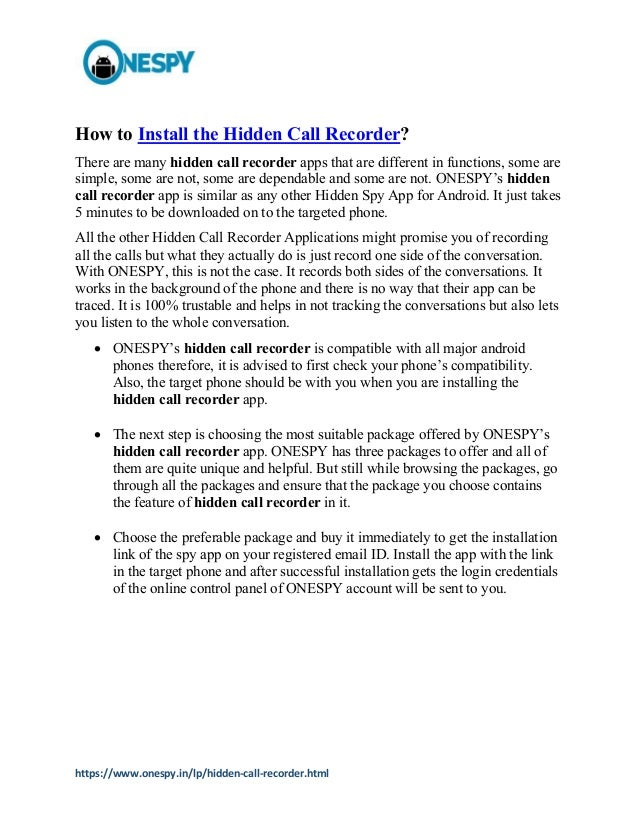 Modern Technology: Hidden Call Recorder App for Android Phones