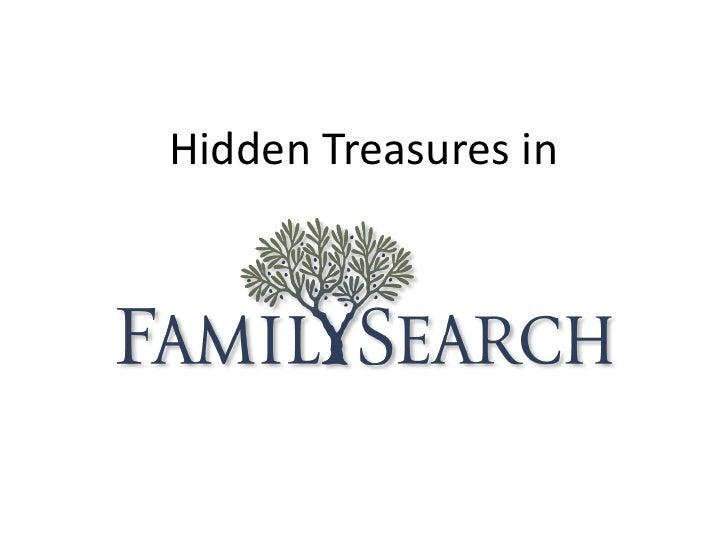 Hidden Treasures in