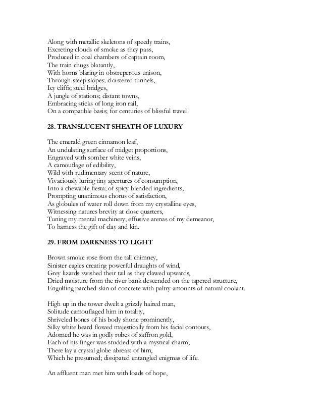 Hide and Seek - part 6 - Rhyming & Non Rhyming Poems