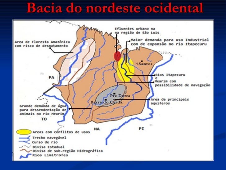 Bacia do nordeste ocidental