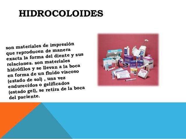 Hidrocoloides for Materiales para un vivero forestal